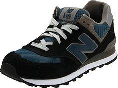 New Balance Men's ML574 Lifestyle Sneaker,Navy/Slate Blue Suede,10.5 D US ** To…