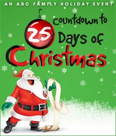 ABC Family 25 Days of Christmas Schedule 2012