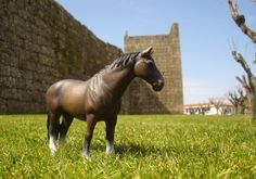 Schleich horse in Trancoso (Portugal) Horses, Explore, Animals, Animales, Animaux, Horse, Words, Animal, Exploring