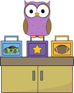 Owl Lunch Box Monitor
