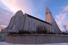 Hallgrímskirkja, Reykjavík, Iceland. #hdr http://www.morka.fr