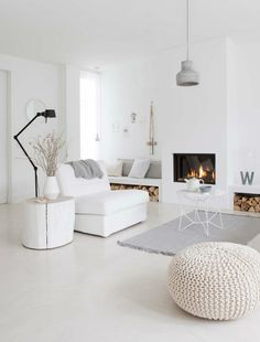 Many homeowners consider having a cozy house that features a unique interior design. That is what is established in this white paint-themed house. The walls are spotless white, and the...