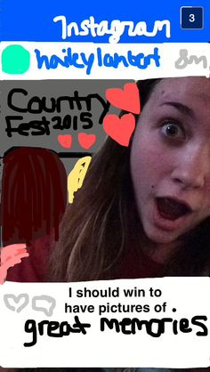 haileylambert definitely deserves a follow after creating this snapsterpiece! #snapchat #creativity