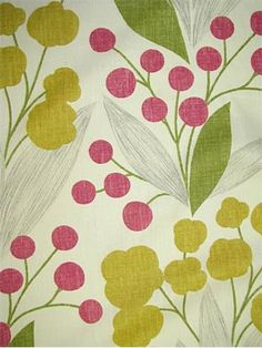Capparis Sangria -- pattern like this for our king pillowcases