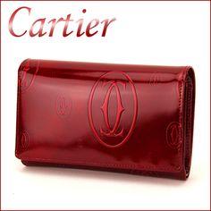 e15b6397b84e4e Rakuten: Cartier CARTIER L3000347 Happy birthday wallet, accessory wallet  Lady's Bordeaux folio - Shopping