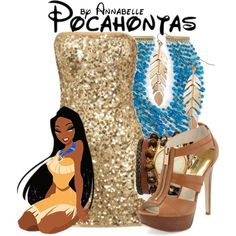 """""""Shine Pocahontas"""" by annabelle-95 on Polyvore"""