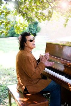 Ronnie Milsap was born in january 16 1944 Robbinsville, North Carolina with a congenital disorder that left him almost completely blind.