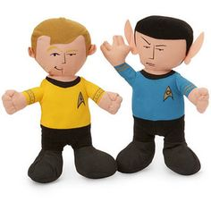 Spock star trek plush. I don't want it for me, I want it for my dad haha. He'd love this. $6.99