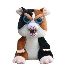 "Feisty Pets By William Mark- Cuddles Von Rumblestrut- Adorable 8.5"" Plush Stuffed Guinea Pig That Turns Feisty With A Squeeze! - Walmart.com"