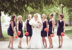 coral grey & navy blue wedding - Bing Images