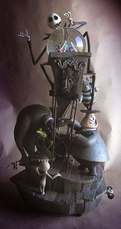 10th Anniversary The Nightmare Before Christmas Snow Globe.