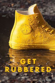 8 Best Converse rubber yellow images | Converse, Chuck