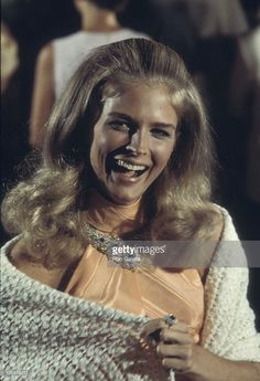 """Candice Bergen during Film Set of """"The Adventurers"""" - September 1968 in Rome, Italy. Get premium, high resolution news photos at Getty Images Candice Bergen, Classic Hollywood, Old Hollywood, Hollywood Stars, Julie Christie, Shannen Doherty, Celebrity Crush, American Actress, Supermodels"""