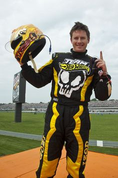 Tanner Foust for Team Hot Wheels.  We love Tanner in our house.