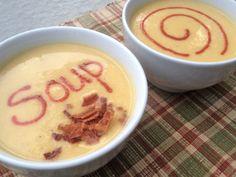 his & hers cauliflower soup