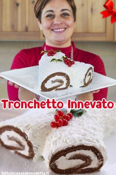 Brunch Recipes, Cake Recipes, Torte Cake, Moon Cake, Italian Desserts, Cannoli, Biscotti, Christmas Baking, Nutella