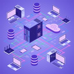 Buy Data Network Cloud Computing Technology Isometric by -TAlex- on GraphicRiver. Data Network Cloud Computing Technology Isometric business concept with network server, computer, laptop, router and . Technology Posters, Technology Design, Computer Technology, Digital Technology, Educational Technology, Technology Gadgets, Computer Science, Google Glass, Blender 3d
