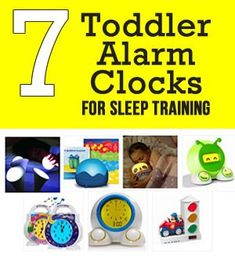 Sleep training clocks for toddlers - get your child to bed at night and teach them when it's okay to wake up and get out of bed.