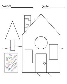 shapes colors printable worksheet printable worksheets worksheets and printable shapes. Black Bedroom Furniture Sets. Home Design Ideas