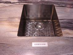 The Edge E-510 in our Dolce Vita 180fx® #Formica #kitchen #bathroom #laminate #sink #interiordesign #countertop