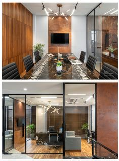 An Office Space with Visual Connectivity and Framed Compositions : The Metal and Tool Project   Sparc Design Office Decor, Architects, Conference Room, Space, Metal, Projects, Furniture, Design, Home Decor
