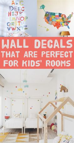 30 Completely Adorable Wall Decals For Kidsu0027 Rooms