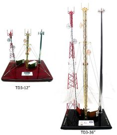 TNT: 3 Tower Telecommunications Tower Display. 5 Sizes available