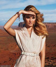 Candice Swanepoel in 'American Splendor'...