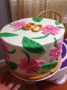 Hawaiian Luau cake!