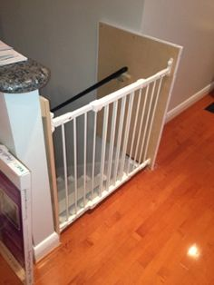 Baby Gate Installation Kit Reviews U0026 Where To Buy: Metal Stairway Railing  Installation Kit By Cardinal | KidSmartLiving@Home Blog | Baby Nolte |  Pinterest ...