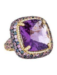 #Amethyst #Pink #Blue #Diamond #Jewellery