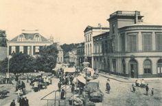 Oude markt met hotel van Ouds de Prins.