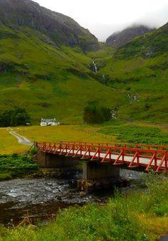 I've been here!  It's as beautiful as it looks!  Glen Coe, Scottish Highlands, Scotland, UK