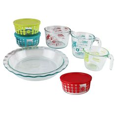 Pyrex 100 Year 10-Piece Vintage Future Glass Bakeware and Food Storage Set * Learn more by visiting the image link.