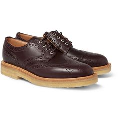 Mark McNairyRubber-Sole Leather Brogues
