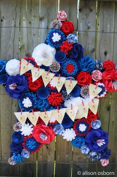 DIY 4th of July Decorations on Love The Day