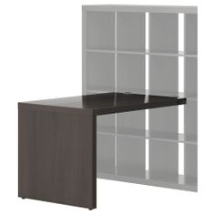 EXPEDIT Desk - black-brown - IKEA $50.00