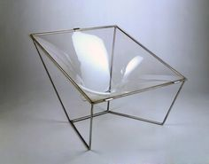 Contour Chair. Designed by David Colwell. Made by 4's Co. Ltd., London; 1968