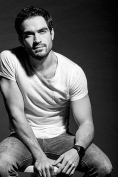 Alfonso Herrera; the reason I'm watching the Fox show 'The Exorcist.' He's also in Sense8 but I'm not watching it, yet.