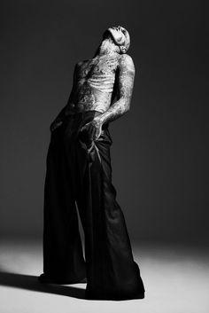 post apocalyptic men's fashion | Rick Genest | Men's Fashion: Post-Apocalyptic