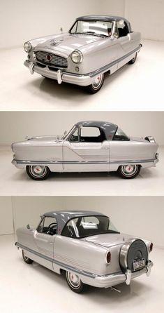 1962 Nash Metropolitan Drum Cover, Collector Cars For Sale, Drum Brake, Hood Ornaments, Gray Interior, Small Cars, Fiat 500, Manual Transmission, Ali