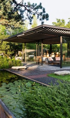 Japanese Tea House, Lake Zurich, Museum Exhibition, Sustainability, Pergola, Outdoor Structures, Landscape, World, The World
