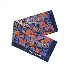 땀이 많이 나는 계절! 주머니에 면 스카프 하나쯤은 필수! #엘롯데 #밀레 #스카프 #millet