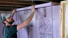 Insulate Your Basement, Part 3 - Fine Homebuilding Basement Walls, Basement Flooring, Home Building Tips, Building A House, Basement Insulation, Rigid Insulation, Bulkhead Doors, Masonry Wall, Home Tools