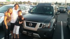 Dewey Crain, Lori Hamm Crain, and Xavier what a beautiful family pic in front of your new Nissan Xterra:) I am glad you got in contact with me and enjoy it for a long time to come. Also good luck with your band Dewey.  Jay Grosman Www.TalkingCarsWithJay.com