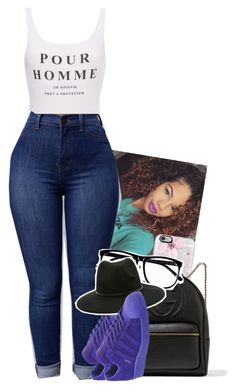 """""""purple rain, purple rain☔️"""" by toniiiiiiiiiiiiiii ❤ liked on Polyvore featuring adidas, Casetify, Gucci, H&M and Forever 21"""