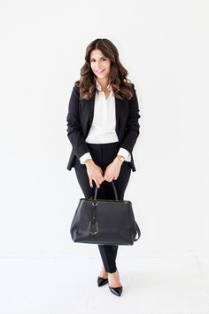 ba3dd854becd What to Wear for a Job Interview - Business Professional  fashion  career   theeverygirl