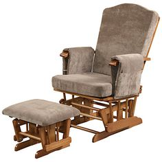 Kub Ashdown Glider And Footstool