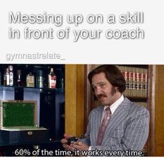 It's called Coaches Curse and yes its real. Gymnastics Moves, Gymnastics Problems, Gymnastics Photos, Gymnastics Things, Play Soccer, Soccer Stuff, Basketball, Funny Gymnastics Quotes, Soccer Workouts