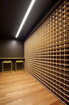 Image 6 of 22 from gallery of Fairhaven Residence / John Wardle Architects. Photograph by Trevor Mein Wine Furniture, Furniture Design, Caves, Cave A Vin Design, John Wardle, Wine Cellar Design, Wine Cabinets, Wine Storage, Kitchen Storage